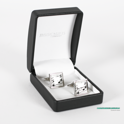 Cufflinks musical notes