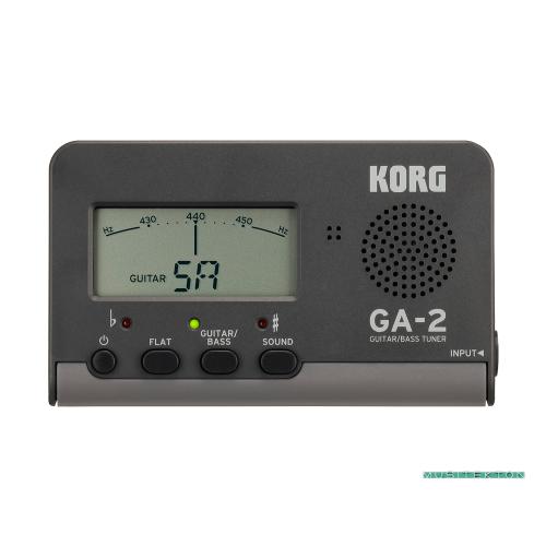 Afinador para guitarra y bajo Korg GA-2