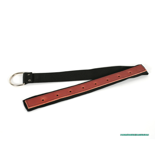 Leather cello strap with ring