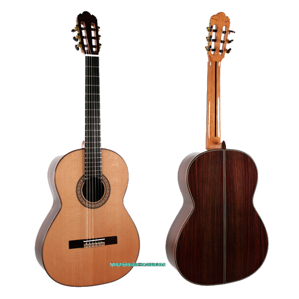 Guitarra f caldera jade musitekton barcelona for Guitarras barcelona