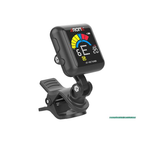 Afinador clip Aroma AT-102 recarregable