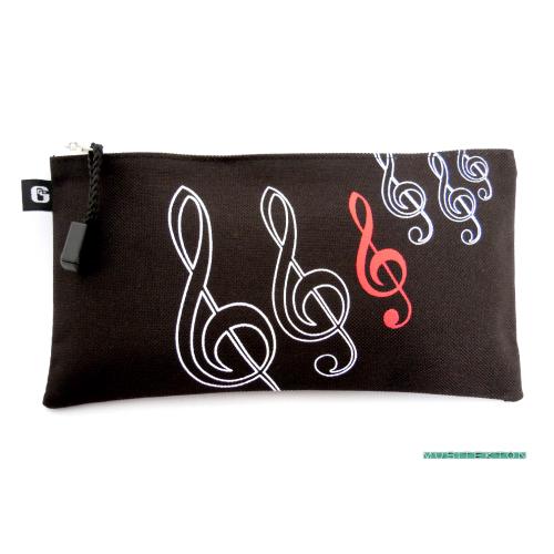 Pencil bag treble clef