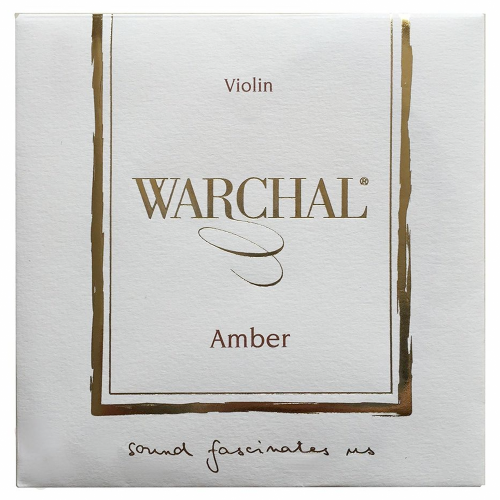 Violin strings Warchal Amber