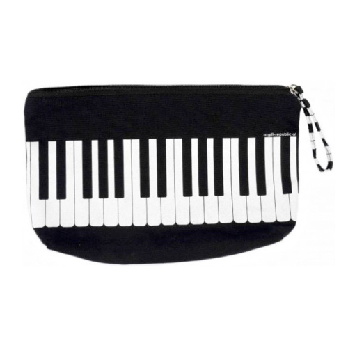 Plumier negro teclado B-3018