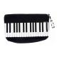 Estuche negro teclado B-3018