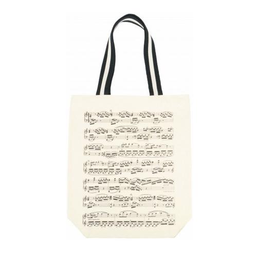 Bolsa beige partitura B-3045