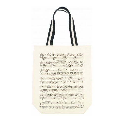 Bag beige music sheet B-3045