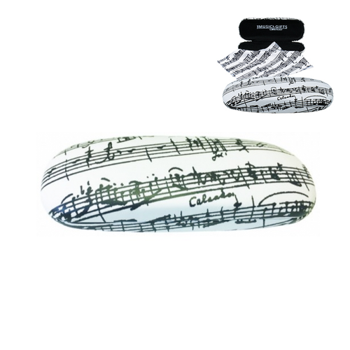 Eyeglass case music sheet