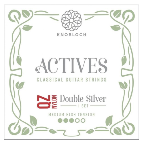 Guitar Strings Knobloch Actives Double Silver Nylon QZ