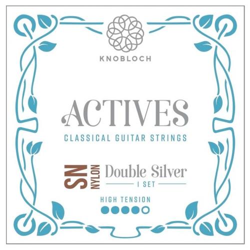 Cuerdas Guitarra Knobloch Actives Double Silver Nylon SN