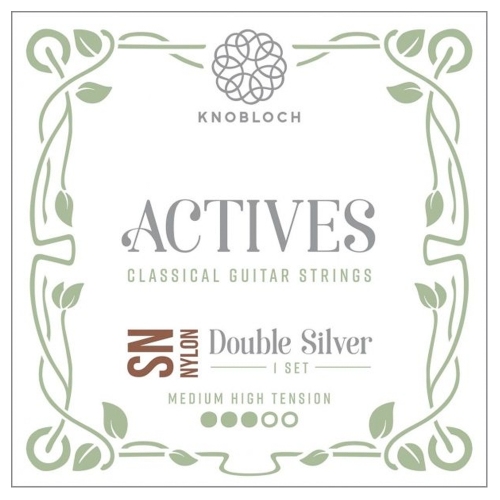 Guitar Strings Knobloch Actives Double Silver Special Nylon SN