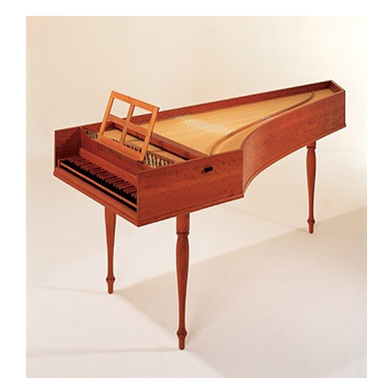 "French single Harpsichord ""Junior"" by The Paris Workshop"