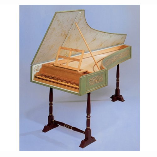 Italian Neapolitan Harpsichord by The Paris Workshop