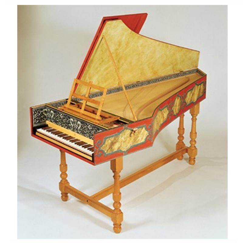 Flemish single Harpsichord Ruckers by The Paris Workshop