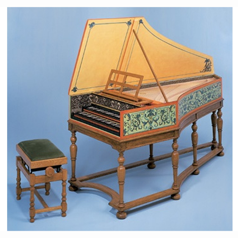 Flemish double Harpsichord Ruckers by The Paris Workshop