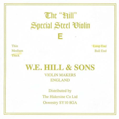 Corda Violí Hill