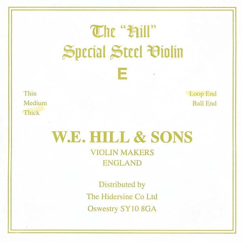 Cuerda Violín Hill