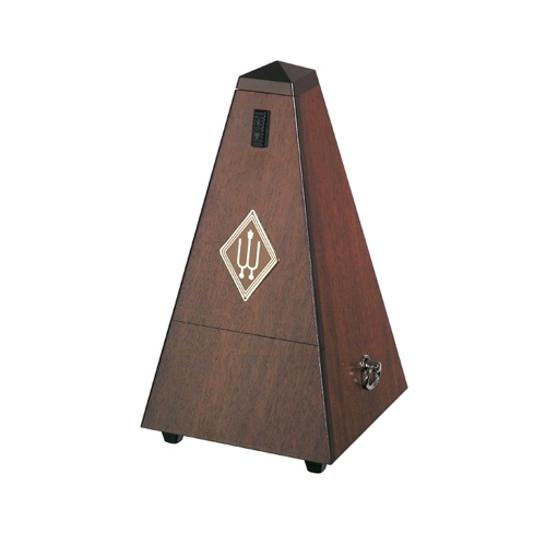 Metronome Wittner walnut wood