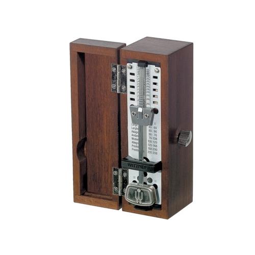 Metrónomo Wittner mini madera caoba