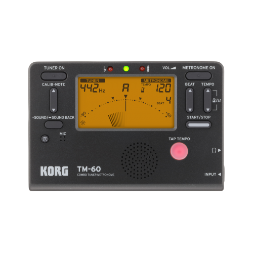 Metrónomo Afinador Korg TM-60