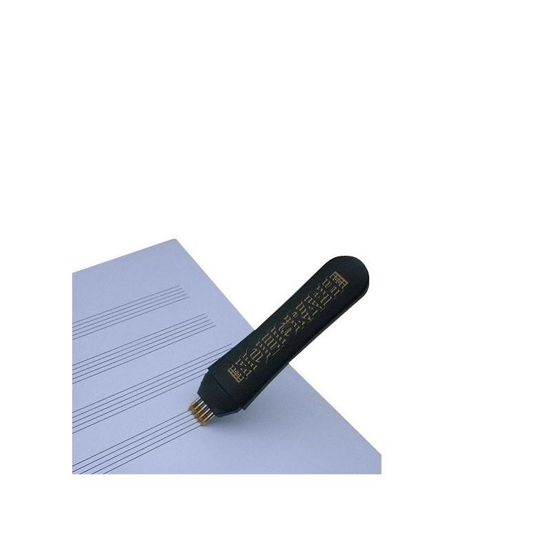 Bolígrafo Noligraph marcador pentagrama