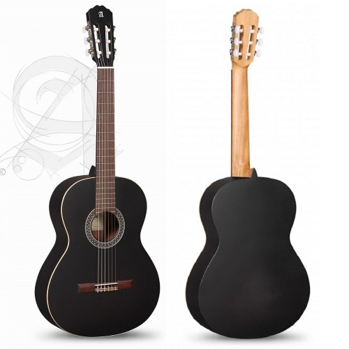 Guitar Alhambra 1C Black Satin