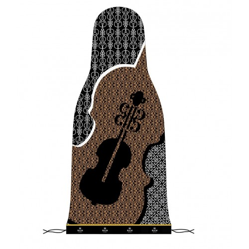 Pijama de seda con cordón para violín Bam