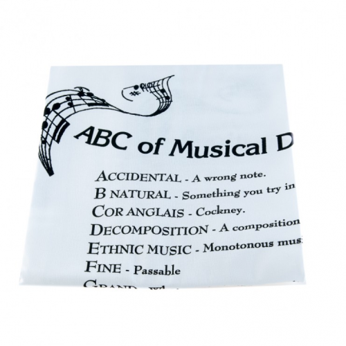 Tea towel musical definitions