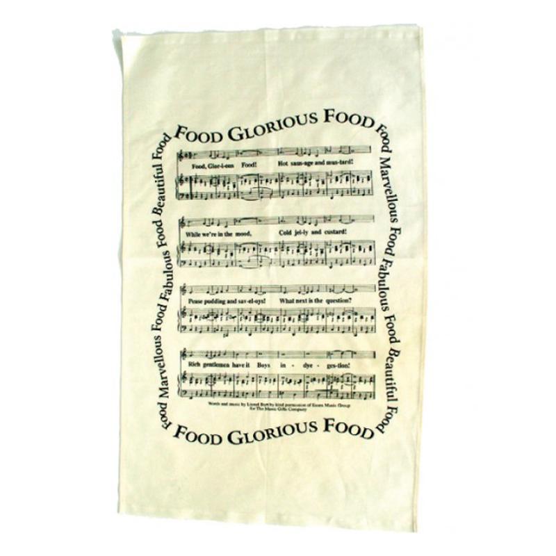 Tea Towel Food Glorious Food