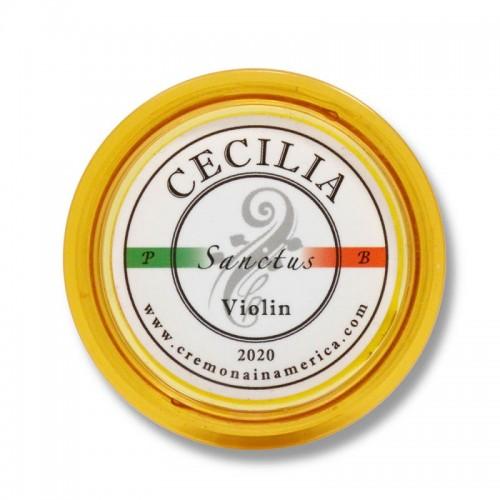Resina Cecilia Violín Sanctus