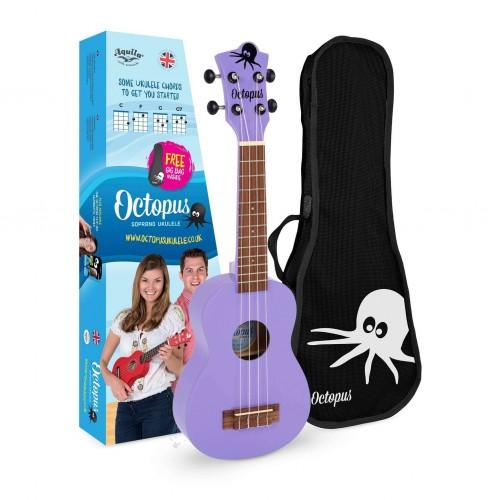 Ukelele soprano Octopus