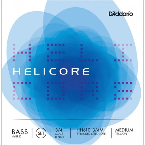 Double Bass String D'Addario Helicore Hybrid