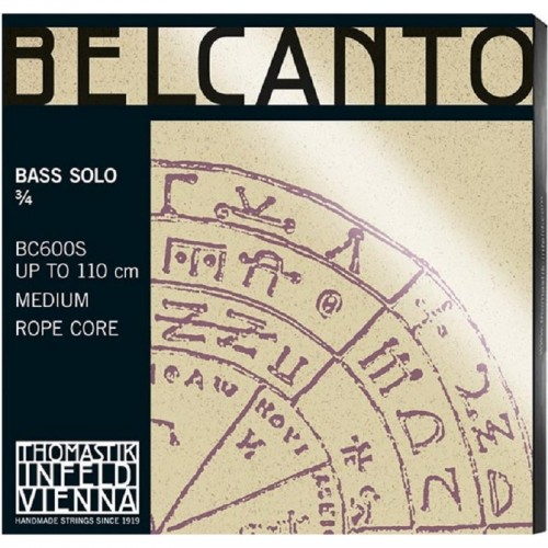 Double Bass String Thomastik Belcanto Solo