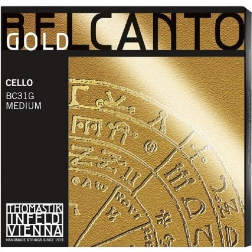 Corda Cello Thomastik Belcanto Gold