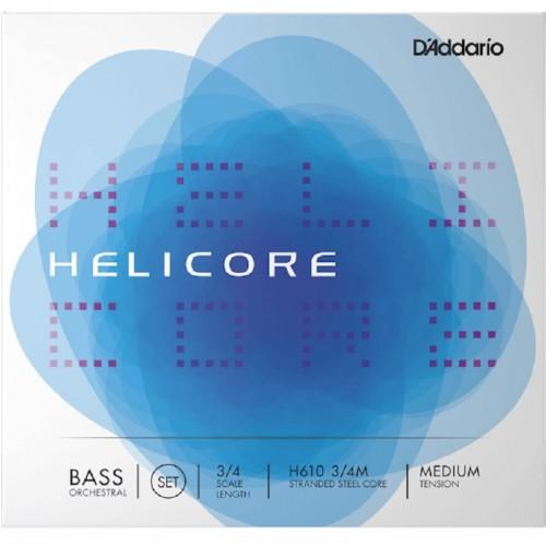 Cuerda Contrabajo D'Addario Helicore Orchestral