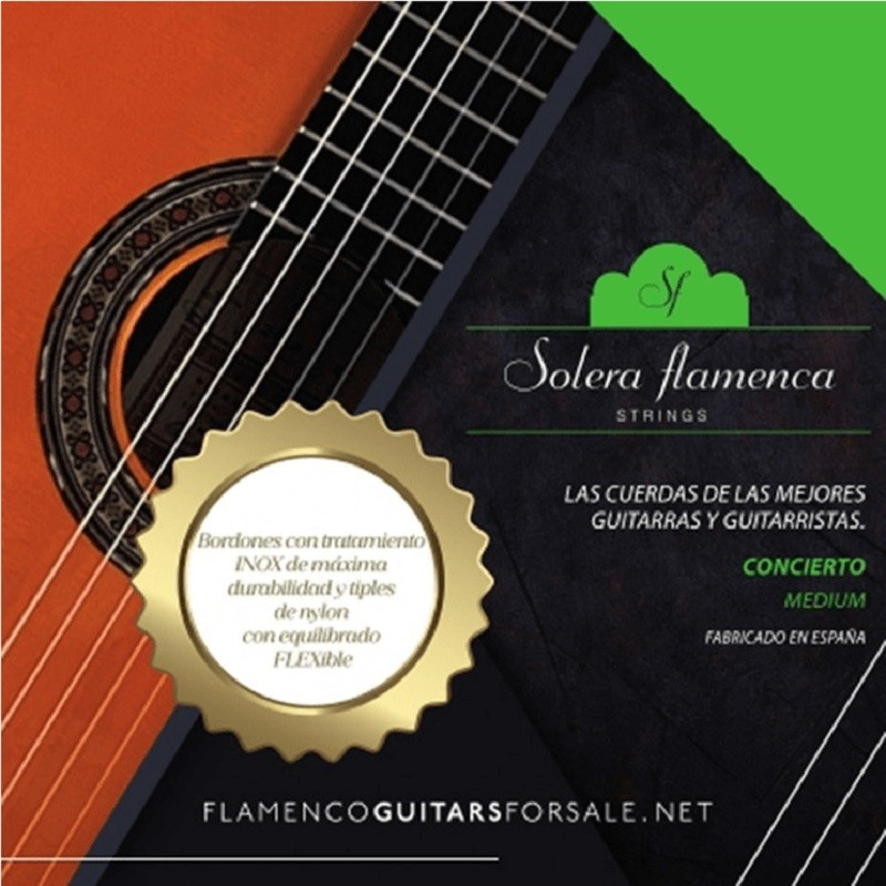 Cuerdas Guitarra Solera Flamenca