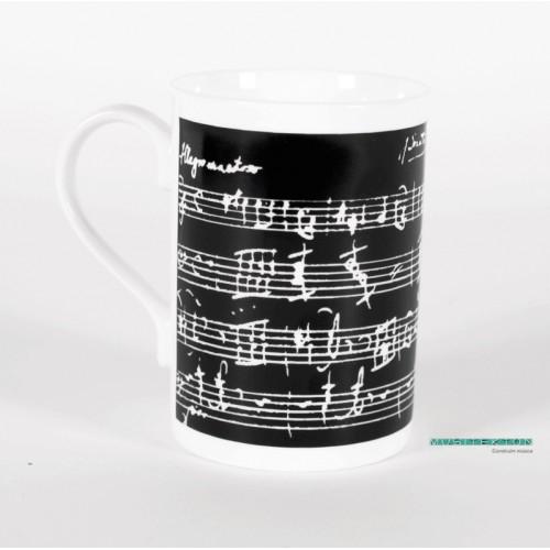 Taza partitura Mozart MZM