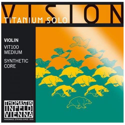 Violin String Thomastik Vision Titanium Solo
