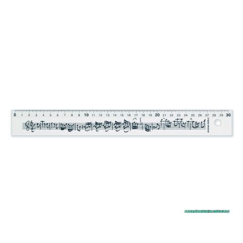 Ruler 30 cm Bach music