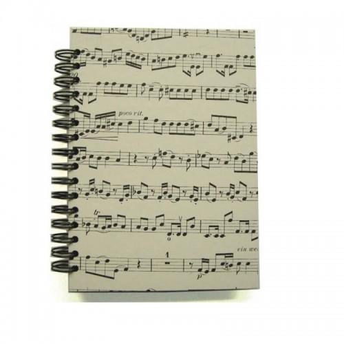 Notebook A6 spiral handmade