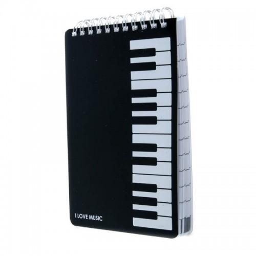 Libreta espiral A6 teclado