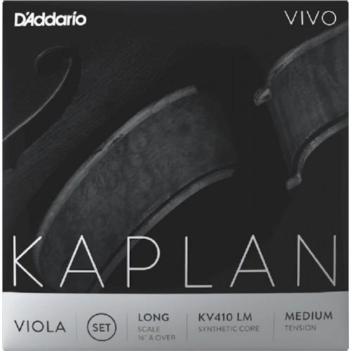 Viola String D'Addario Kaplan Vivo