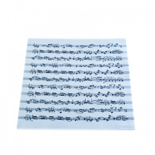 Microfiber cleaning cloth music