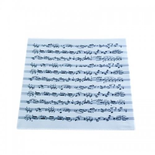 Gamuza microfibra partitura