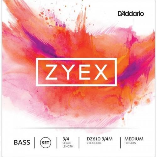 Double Bass String D'Addario Zyex