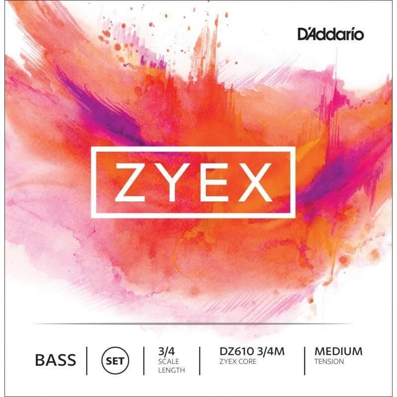 Cuerda Contrabajo D'Addario Zyex