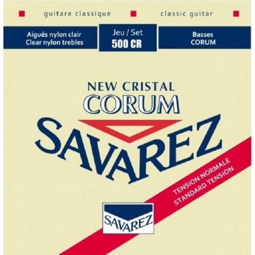Guitar Strings Savarez New Cristal Corum 500-CR