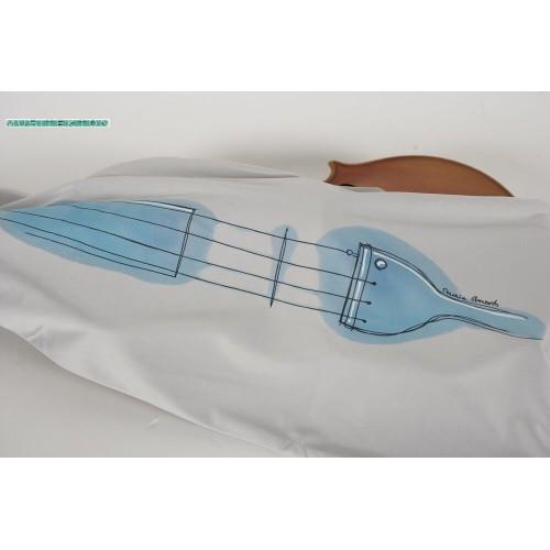 Microfiber bag for viola Maria Amorós