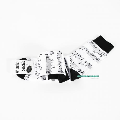 Calcetines blancos partitura