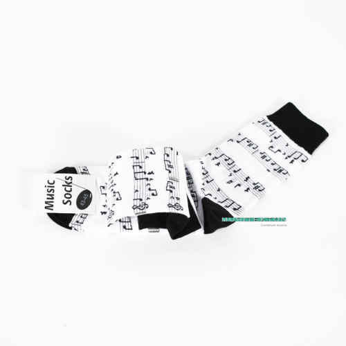 Socks white music sheet